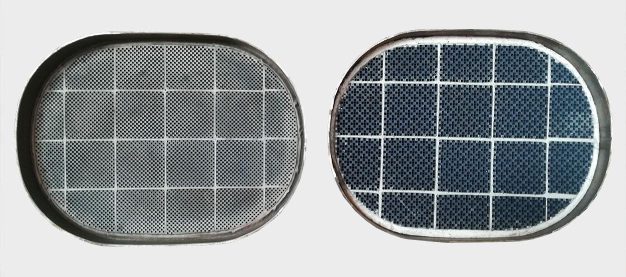 Dpf filter, ki je namenjen vozilom z veliko prevoženimi kilometri