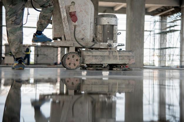 Epoxy premaz je kot nalašč ustvarjen za zaščito utrjenih betonskih plošč